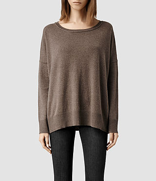 Womens Char Sweater (Fawn)