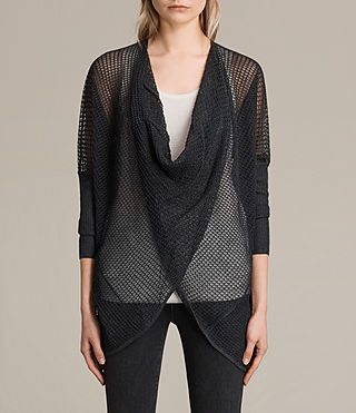 Womens Itat Levita Shrug (Charcoal) - product_image_alt_text_1