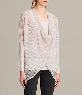 Women's Itat Levita Shrug (CHAMPAGNE PINK) - product_image_alt_text_2