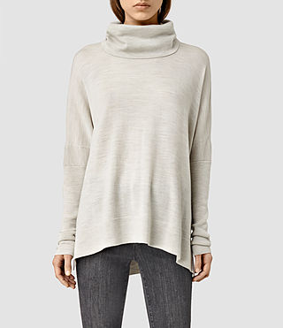 Womens Mitte Sweater (MIST GREY)