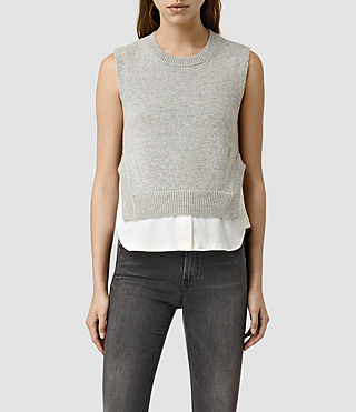 Womens Wick Tank (MIRAGE GREY)