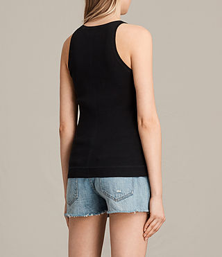 Women's Joni Top (BLACK/INK BLUE) - product_image_alt_text_3
