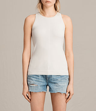Damen Joni Top (ANTIQUE WHITE) -