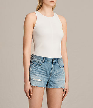 Damen Joni Top (ANTIQUE WHITE) - product_image_alt_text_2