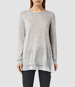 Womens Miro Sweater (MIRAGE GREY)