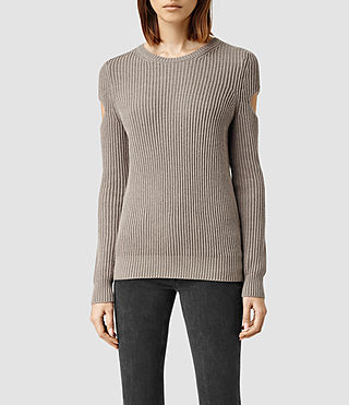 Womens Ria Sweater (LunarGreyMarl)