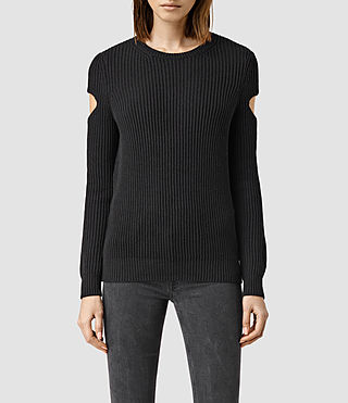 Womens Ria Sweater (Black)