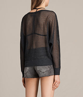 Mujer Elle Levita Sweater (Charcoal) - product_image_alt_text_3