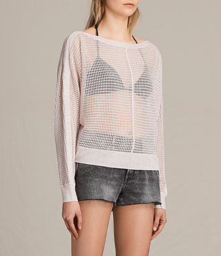 Womens Elle Levita Sweater (CHAMPAGNE PINK) - product_image_alt_text_2
