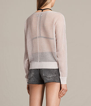 Womens Elle Levita Sweater (CHAMPAGNE PINK) - product_image_alt_text_3