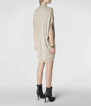 Womens Blaize Sweater Dress (Oat) - product_image_alt_text_4