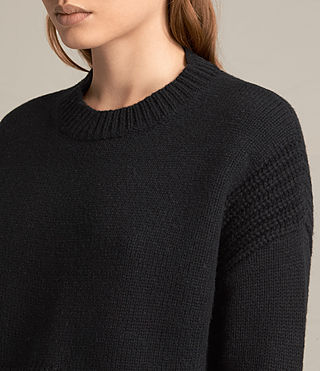 Womens Haisey Alpha Sweater (Black) - product_image_alt_text_3