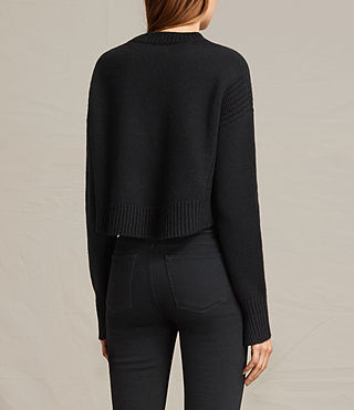 Womens Haisey Alpha Sweater (Black) - product_image_alt_text_5
