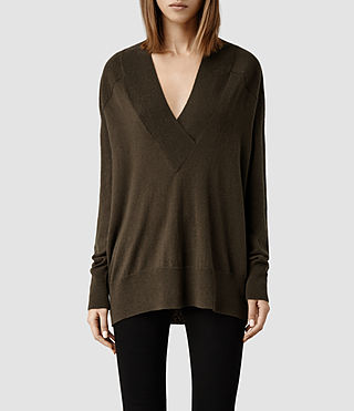 Womens Ruan Sweater (Olivene)