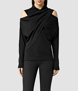 Womens Kaddi Sweater (Black)