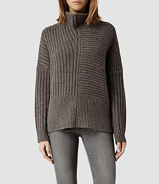 Womens Penryn Sweater (Fawn Marl)