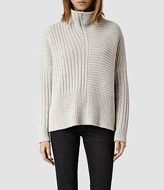 Womens Penryn Jumper (Mist)