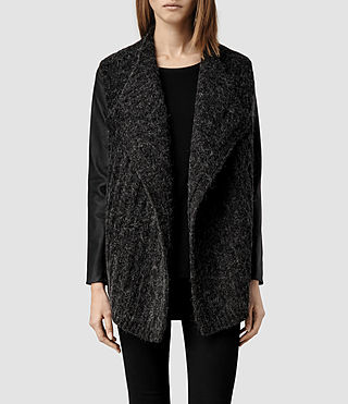 Womens Weston Cardigan (Cinder)
