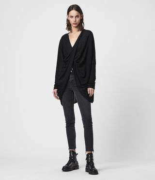 Damen Itat Shrug (Black) - product_image_alt_text_3