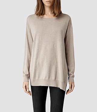 Womens Kimba Sweater (Oat marl)