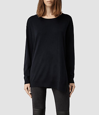 Womens Kimba Sweater (Midnight)