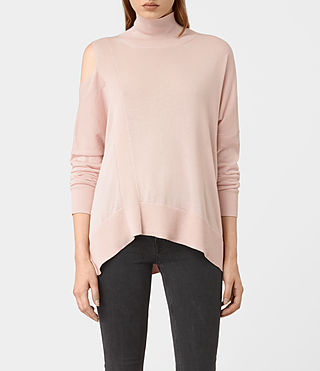 Womens Cecily Sweater (Pink) - product_image_alt_text_1