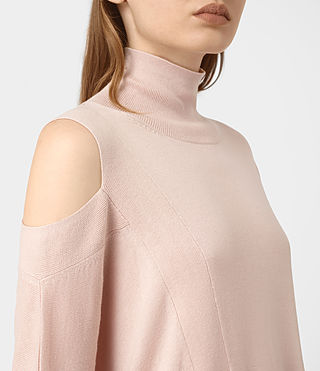 Womens Cecily Sweater (Pink) - product_image_alt_text_2