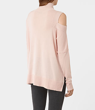 Womens Cecily Sweater (Pink) - product_image_alt_text_3