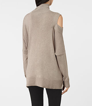 Mujer Cecily Sweater (Sable Brown) - product_image_alt_text_4