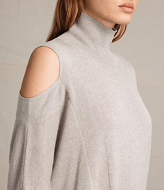 Womens Cecily Sweater (Sable Brown Marl) - product_image_alt_text_2