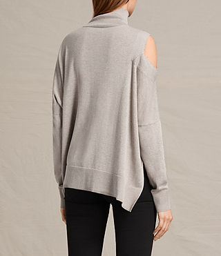 Femmes Cecily Jumper (Sable Brown Marl) - product_image_alt_text_4