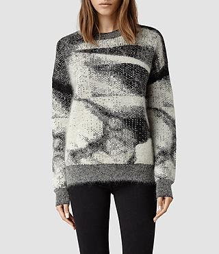 Womens Maraz Sweater (Jacquard)