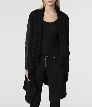 Women's Force Cardigan (Jet) -