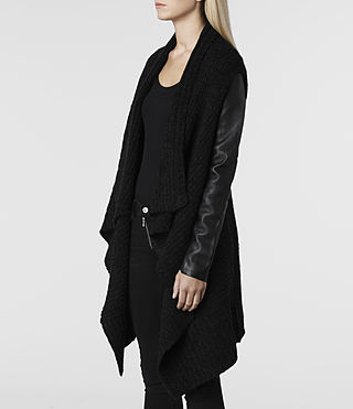 Women's Force Cardigan (Jet) - product_image_alt_text_2