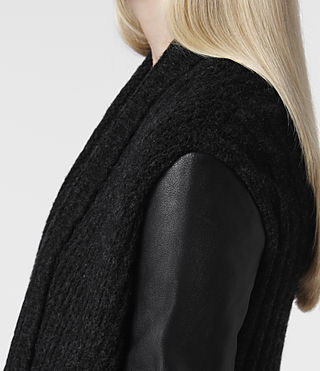 Women's Force Cardigan (Jet) - product_image_alt_text_5