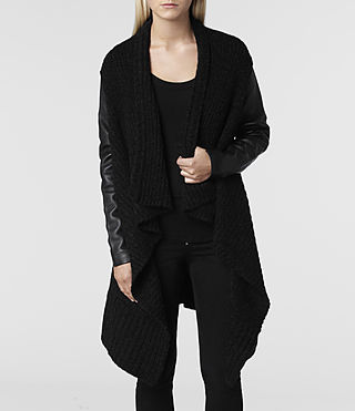 Women's Force Cardigan (Jet) - product_image_alt_text_8