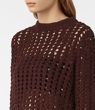 Donne Alyse Jumper (AUBERGINE RED) - product_image_alt_text_2
