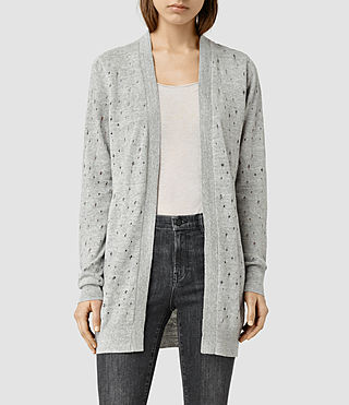 Womens Blink Cardigan (MIRAGE GREY)