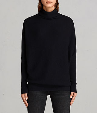 Women's Ridley Jumper (Ink Blue) - Image 1