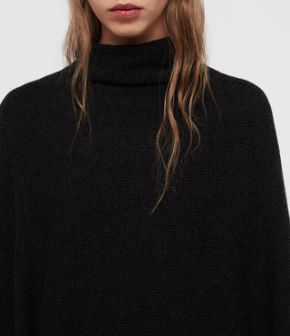 Womens Ridley Sweater (Cinder Black Marl) - Image 2