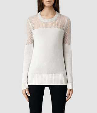 Womens Air Sweater (Porcelain)