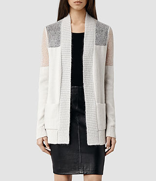 Womens Air Cardigan (Porcelain)