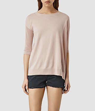 Mujer Cast Sweater (Quartz Pink) - product_image_alt_text_1