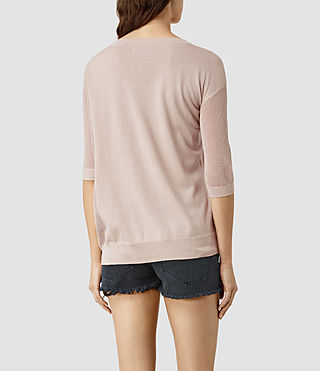 Mujer Cast Sweater (Quartz Pink) - product_image_alt_text_3