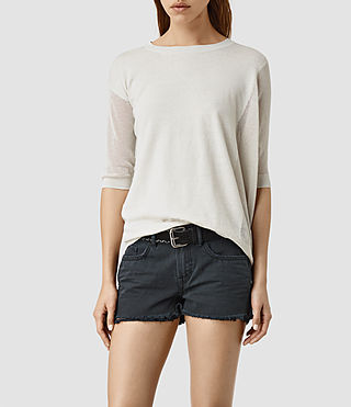 Mujer Cast Sweater (MIST GREY)