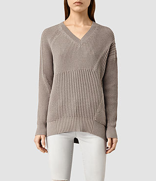 Womens Meller Sweater (LUNAR GREY)