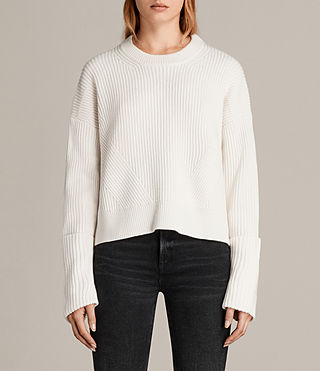 Damen Pierce Pullover (Chalk White) - Image 1