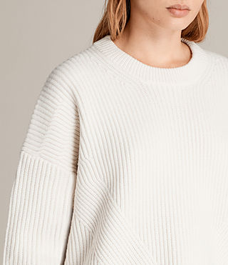 Damen Pierce Pullover (Chalk White) - Image 2