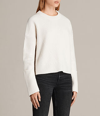 Damen Pierce Pullover (Chalk White) - Image 3