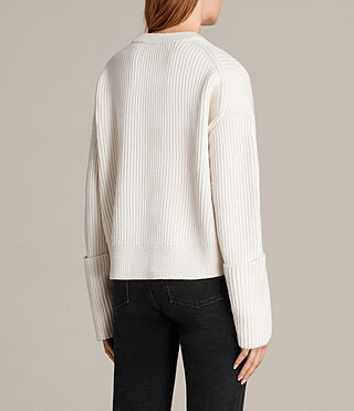 Damen Pierce Pullover (Chalk White) - Image 5